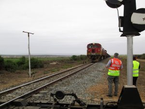 Extension of the Pumane crossing loop in Swaziland