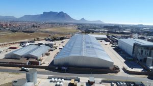 Photovotaic solar rooftop for South African Police Service (SAPS) storage facilities in Cape Town | JG Afrika