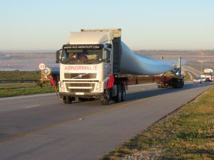 Transportation of a wind turbine | JG Afrika
