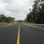 JG Afrika | After photo of the newly upgraded road between Gbarnga and the Guinea border